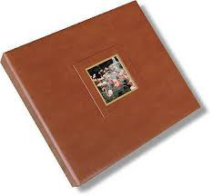 leather scrapbook leather 12 x 12 3 ring binder scrapbook with window