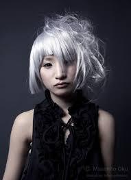 black hair with grey streaks grey hair dye ready to go grey bellatory