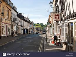 timber frame houses at he historical town centre of winchcombe a