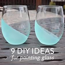 best 25 painted glass vases ideas on pinterest painted glass