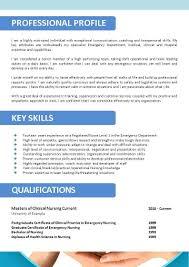 Entry Level Registered Nurse Resume Examples 100 Sample Registered Nurse Resume Examples Er Nurse Resume