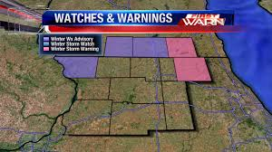 Wisconsin Road Conditions Map by First Warn Weather Team February 2013
