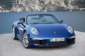 convertible porsche porsche unveils coupe and convertible 911 carrera 4 and 4s