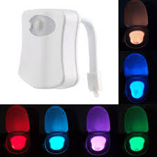 automatic night light with sensor excellent motion sensor toilet human led night lights auto 8 color
