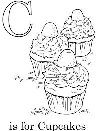 cupcake coloring pages printable coloringstar