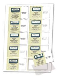 print your own business visitor and membership cards three