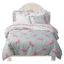 target simply shabby chic simply shabby chic belle hydrangea bedding collection target