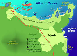 The Map Of Puerto Rico by Adventure Tours U0026 Fun Things To Do In Luquillo U0026 Fajardo Puerto Rico
