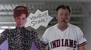 Major League Movie Meme - yarn every time we win we peel a section major league 1989