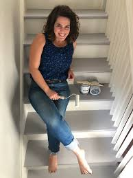 can i use chalk paint to paint my kitchen cabinets how to paint a staircase with chalk paint by sloan