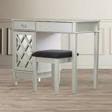 Wood Vanity Table Makeup Tables And Vanities You Ll Wayfair