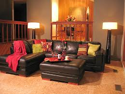Inspiration  Living Room Decorating Ideas Orange Accents Design - Orange living room decorating ideas