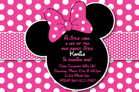 Minnie Mouse Invitation Card Minnie Mouse Backgrounds 66