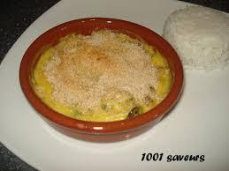 cuisiner noix de jacques surgel馥s gratin safrané de st jacques crevettes et chignons mille et