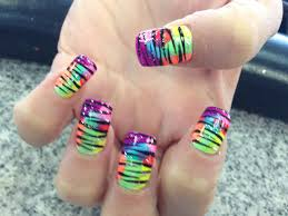 25 best ideas about tie dye nails on pinterest funky nail