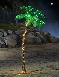 lightshare 24inch 25led palm tree bonsai green