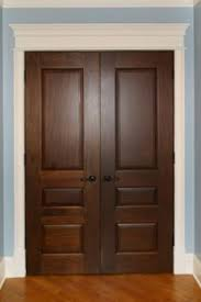 Interior Door Designs For Homes by Interior Door Custom Single Solid Wood With American Walnut