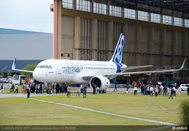 the first a320neo family jetliner is readying for the company u0027s