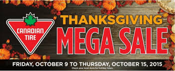 canadian tire thanksgiving mega sale save up to 75