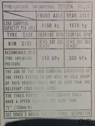 nissan pathfinder tyre size view topic what u0027s legal for a ln106 in tyres rims