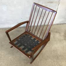 Mid Century Outdoor Chairs Mid Century Danish Rocking Chair Designed By Kofod Larsen For