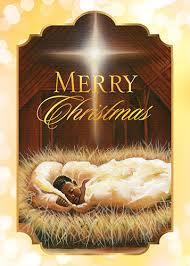 baby jesus merry american card