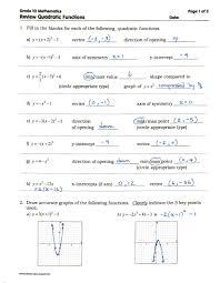 index of courses mpm2d