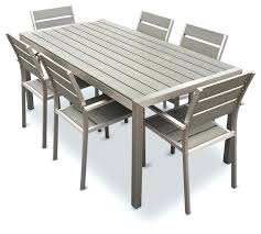 Rustic Wood Patio Furniture Resin Garden Table And Chairs U2013 Exhort Me