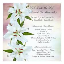 funeral service announcement wording funeral announcement wording invitations 4 u