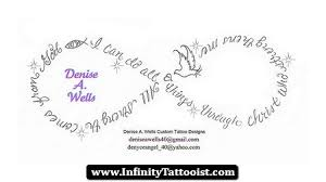 infinity with name in it 01 http infinitytattooist com