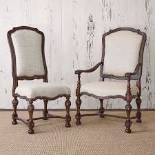 western dining room tables provence dining chair western dining chairs neutral upholstery