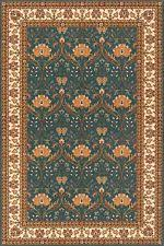 Mission Style Rug Arts U0026 Crafts Mission Style Floral 100 Wool Area Rugs Ebay