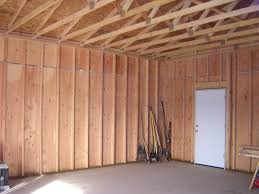 step 6 layout and frame your garage walls 16 inch on center