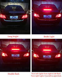 2018 newest car tuning turn signal light led trunk tailgate
