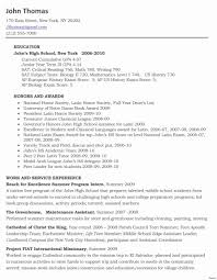 school resume template fresh sle high school resume for league gotraffic co