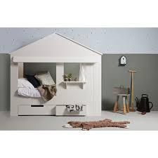 fabriquer tiroir sous lit lit cabane et tiroirs blancs alix alixblcm01
