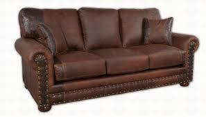 Aged Leather Sofa Jesse James Sofa Santa Fe Ranch