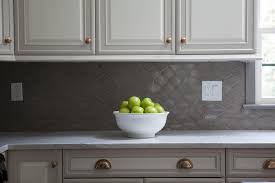 White And Gray Geometric Kitchen Backsplash Tiles Design Ideas - Backsplash panel