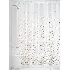 Pvc Free Shower Curtain Croydex Silver Mosaic Fully Waterproof Pvc Shower Curtain Amazon