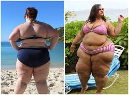 Picture Of Heavy Set Women In A Two Piece Bathing Suit   fat girl flow blogger shares bikini pictures and video jumping in