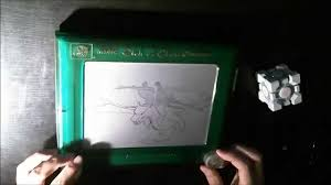 etch a sketch darth vader riding charizard youtube