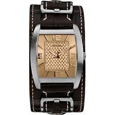 bracelet montre homme guess images Montre homme guess w0186g2 bracelet cuir marron marron achat jpg