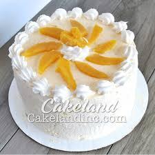 Kek Mango mango cake vanilla cake mango cheese frosting and