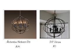 design of orb chandelier diy diy crystal orb chandelier tutorial