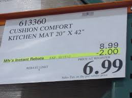 Comfort Kitchen Mat Anti Fatigue Mats Kitchen Anti Fatigue Mats Costco