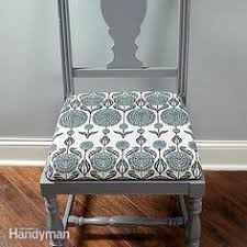 how to cover a chair how to add a padded seat to a wooden chair for the home