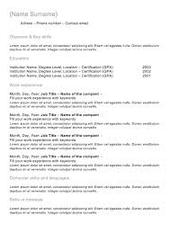 classic resume exle classic resume exle musiccityspiritsandcocktail