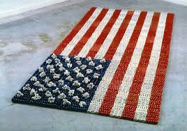 American Flag Rugs Schaller Gallery Launches U0027small Rays Of Hope And Fragments Of A