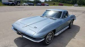 1966 corvette trophy blue chevrolet cars corvettes for sale effingham heartland