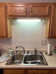 kitchen cabinet sink used white and blue modern kitchen makeover on a budget chica